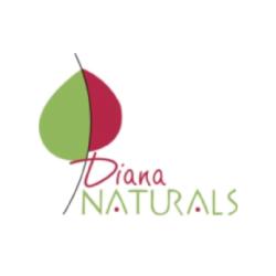 logotipo de diana naturals